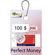 کارت شارژ (ووچر) 100 دلاری پرفکت مانی
