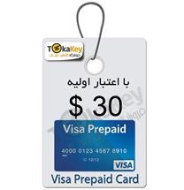 صدور ویزا کارت مجازی قابل شارژ 30 دلاری