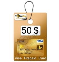 ویزا کارت مجازی 50 دلاری اروپا