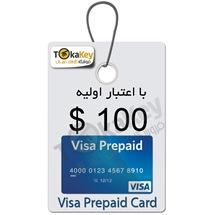 صدور ویزا کارت مجازی قابل شارژ100 دلاری