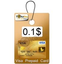 ویزا کارت0.1 دلاری آمریکا مجازی