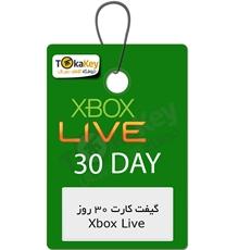 گیفت کارت Xbox live Gold یک ماه