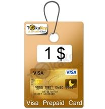 ویزا کارت 1 دلاری آمریکا مجازی