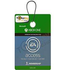 گیفت کارت یک ماهه  EA access ایکس باکس XBOX