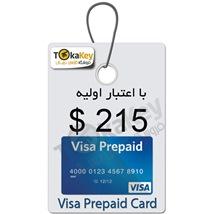 صدور ویزا کارت مجازی قابل شارژ 215 دلاری-ثبت نام آزمون تافل