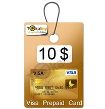 ویزا کارت مجازی 10 دلاری اروپا