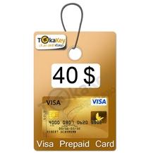 ویزا کارت مجازی 40 دلاری