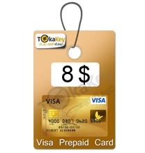 ویزا کارت مجازی 8 دلاری اروپا
