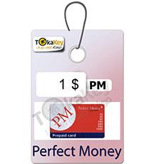 کارت شارژ (ووچر) 1 دلاری پرفکت مانی